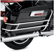 Saddlebag Guard Kit, 91216-97, fits a Harley Davidson 1997 - 2008 FLHR  FLHT 2006 - 2008 FLH and 1998 - 2008 FLTR Models