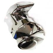 Starter Motor Cover Chrome, fits a Harley Davidson Touring 2008 - present