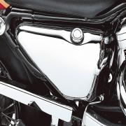 A Oil Tank Cover, 62512-97, fits a Harley Davidson Sportster® 1994 - 2003