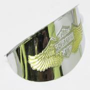 Headlight Wing Gold, 67791-91T, fits a Harley Davidson 5 Inch Mulifit