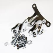 Motor Mount Kit Chrome, 47480-04, fits a Harley Davidson Sportster® 2004 - up