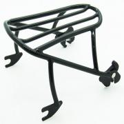 Luggage Rack Solo Seat Black, 53652-05, fits a Harley Davidson Softail® 2000  - up