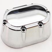 Gearbox Cover Chrome, 37105-99, fits a Harley Davidson Multifit 5 Speed