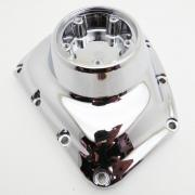 Cam Cover Chrome, 25369-01A, fits a Harley Davidson Big Twin