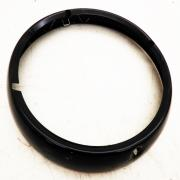 Headlight Trim Ring Black, 68051-08, fits a Harley Davidson Multifit 7 Inch